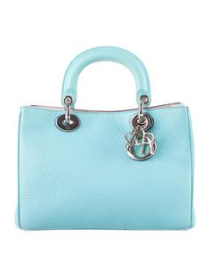 77e6e9f07c2 Christian Dior Small Nappa Diorissimo Bag Dior Handbags, Handbags On Sale,  Leather Interior,
