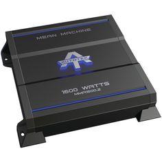 Autotek Mma1600.2 The Mean Machine(R) 2-Channel Class Ab Amp (1,600 Watts)