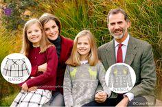 📌 lacasitademartina.com  #Blog de #modainfantil 🇪🇸   #Spain #lacasitademartina #fashionkids #kidsfashion #kidstrends #kidswear #modaniños #kids #bebes #modabebe #baby #coolkids #moda  #kidsstyle #kidsmodels #tendencias #minimodels #miniblogger #childrensfashion #modabambini ♥ Qué marca de moda infantil viste a Leonor y Sofía en la felicitación navideña ♥ : Blog de Moda Infantil, Moda Bebé y Premamá ♥ La casita de Martina ♥