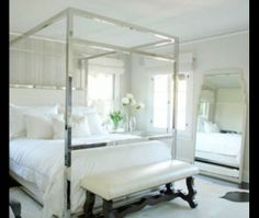 landon bed | canopy, modern and bedrooms
