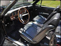 1967 Pontiac GTO Convertible Triple Black, Dual Gate Shifter presented as lot at St Charles, IL 2012 - 1967 Gto, Amc Javelin, Pontiac Lemans, Triple Black, Muscle Cars, Dream Cars, Convertible, Classic Cars, Auction
