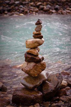 Kootenay Stacked Stones
