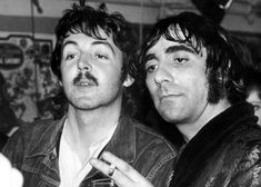 Paul McCartney & Keith Moon