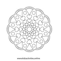 Spring Flowers Coloring Pages For Adults Printable ⋆ Kids Activities Rose Coloring Pages, Spring Coloring Pages, Mandala Coloring Pages, Coloring Books, Colouring Sheets For Adults, Free Coloring Sheets, Printable Adult Coloring Pages, Easy Mother's Day Crafts, Mothers Day Crafts