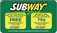 Subway Coupons Ends of Coupon Promo Codes MAY 2020 ! Is a of it's but It private Subway operator selling over 2019 in is restaurant, . Cigarette Coupons Free Printable, Free Printable Coupons, Free Printables, Dollar General Couponing, Coupons For Boyfriend, Grocery Coupons, Love Coupons, Extreme Couponing, Coupon Organization