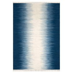Lilus Flat-Woven Kilim Style Wool Rug AM.PM. : price, reviews and rating, delivery. Lilus rug. With its traditional Ikat motif brought up to date in blue and beige, it will bring a touch of colour and warmth to your interior… Flat-woven (less than 0.5mm thick), it's easy care as it's easy to vacuum.Providing natural thermal and acoustic insulation, rugs can transform a room, making it nice and cosy and creating a sense of well-being and comfort. Decoration that adds style and ...