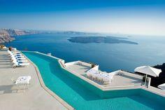 Grace Santorini - lyxhotell, en lyxresort, i den grekiska övärlden.