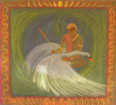 Age 11 ~ Ancient India ~ Prince Siddhartha ~ chalkboard drawing