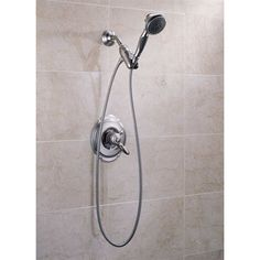 Delta Faucet 54613 ThreeFunction Hand Held Shower - Fixture Universe - downstairs shower