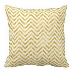 Yellow Chevron Throw Pillows   Pretty Throw Pillows    #yellow #chevron #prettythrowpillows #home #pillows #decor