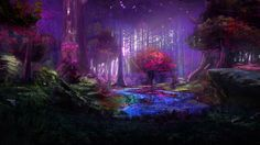 Beautiful art of Avatar Jungles...