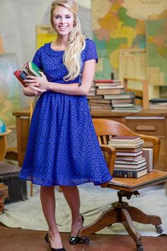 Diamond Patterned Zooey Dress from the Fall Collection by Shabby Apple