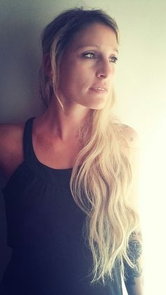 #blond #girl #longhair #tattoo #tattooed #bini #binshe #carina #biene