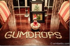 IMG_1095 Christmas Traditions, Family Christmas, Elf On The Shelf, Shelf Ideas, Table Decorations, Traditional, Onion Dip, French Onion, Fun