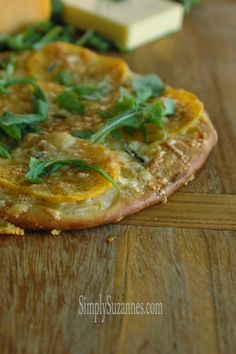 Simply Suzanne's AT HOME: butternut squash pizza . . .