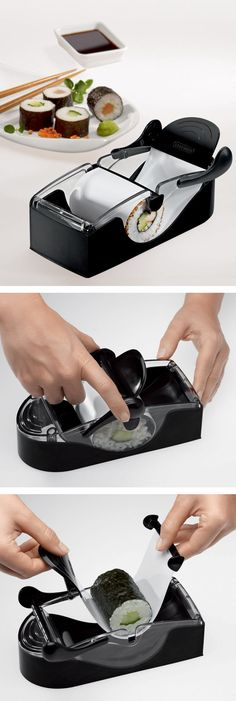 Perfect sushi roll making machine