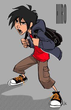 Hiro colour Jin Kim Character design