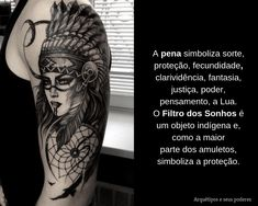 Pena x Filtro dos Sonhos Facebook Sign Up, Wolf, Tattoos, Tattoo Meanings, Feather, Tatuajes, Tattoo, Wolves, Tattos