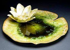 by Anne T. Gary.. #annegary #crystalline #pottery #ceramic #porcelain #art #artwork #design #nacitopak