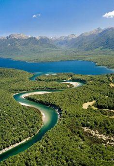 Lake Manapouri, New Zealand