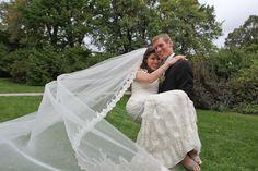 Custom couture veils by Antonietta Cervantes for Veiled By ChaCha.  www.veiledbychacha.net