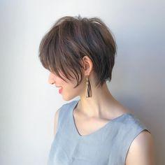 Pin on ショートヘア Medium Short Hair, Girl Short Hair, Short Hair Cuts, Medium Hair Styles, Short Hair Styles, Cute Pixie Cuts, Japanese Hairstyle, Haircut And Color, Good Hair Day