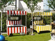 Hoopla & Hook-a-Duck Funfair Stalls. Private Garden Party. Available for hire & based near London.