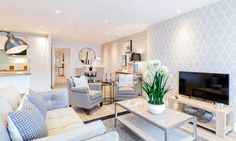 Living Room by WN Interiors (From WN Interiors of Poole in Dorset)