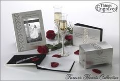Engraved Wedding Gifts, Engraved Gifts, Wedding Flutes, Keepsake Boxes, Hearts, Place Card Holders, Collection, Products, Engraved Wedding Presents
