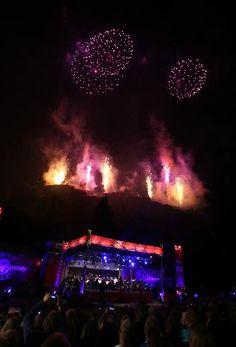 Spectacular fireworks display marks end of Edinburgh's festival season (From Herald Scotland)