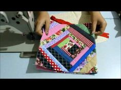 Patchwork Patch Aplique e Quilting Tutorial Patchwork, Patch Quilt, Rag Quilt, Quilt Blocks, Crazy Patchwork, Patchwork Bags, Quilting Board, Hand Quilting, Paper Piecing