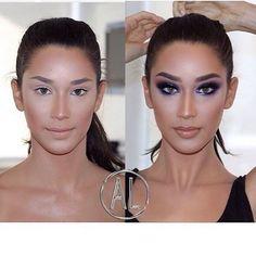 highlight #alcantaramakeup #vegas_nay #anastasiabeverlyhills #makeupartist #makeup #hudabeauty