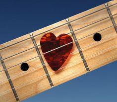 DIY Valentines Gifts: Heart Shaped Guitar Picks