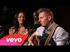 Joey and Rory ~ The Preacher and the Stranger (Live) - my husband and I were pulling for this couple to win on that contest singing show :)