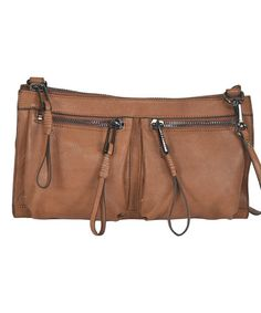 Another great find on #zulily! Maple Rock & Roll Leather Crossbody Bag #zulilyfinds
