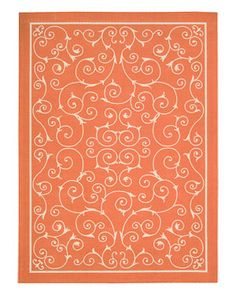 Pretty rug for laundry room