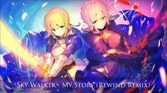 Sky Walker  - My Story (Rewind Remix) (no copyright music)