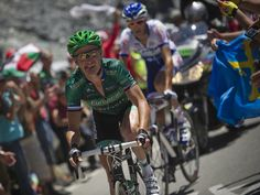 Team Sky | Pro Cycling | Latest News 2012 | Tour stage 16 gallery | Thomas Voeckler made his decisive attack on the Col de Peyresourde