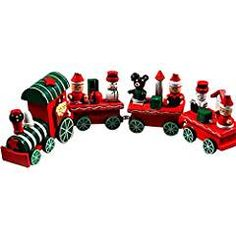 Cheap wooden christmas, Buy Quality ornamental decoration directly from China christmas gifts Suppliers: 2017 Hot New Lovely Charming 4 Piece little train Wood Christmas Train Ornament Decoration Decor Gift Christmas Train, Christmas Toys, Christmas Ornaments, Ball Ornaments, Train Ornament, Wooden Christmas Decorations, Wooden Ornaments, Wooden Train, Toys For Girls
