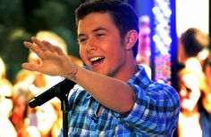 Scotty MrCreery....I totally fell a little bit in love listening to the trouble with girls