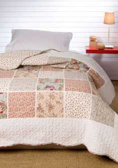 7742 Johanna 100% cotton patchwork quilt 180x270+1(50x50), 200x270+1(50x50), 235x270+2(50x50), 250x270+2(50x50)