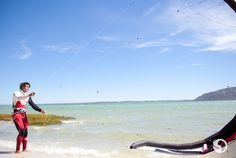 Go Kite Surfing: Our action man knows a thing or two about kite surfing, so we headed up the west coast to Langebaan an easy one-hour drive from Cape T. Marine Reserves, Seaside Towns, Kitesurfing, Cape Town, West Coast, South Africa, African, Adventure, World