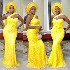 Pictures of Asoebi Lace + Kitenge styles for December 2018 Nigerian Lace Styles, Aso Ebi Lace Styles, African Lace Styles, African Lace Dresses, African Fashion Dresses, Nigerian Fashion, Ankara Styles, African Inspired Fashion, African Print Fashion
