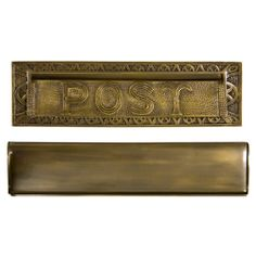 "ordering in polished chrome-Heavy Duty ""Post"" Mail Slot"