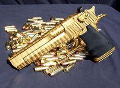 Gold Desert Eagle