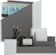 mixed desk accessories    CB2