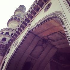 Charminar in the old city Hyderabad