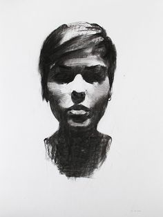 Charcoal Portrait Studies (by Mike Creighton)