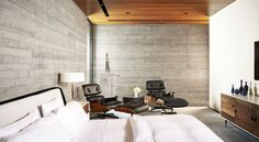 'Minimal Interior Design Inspiration' is a biweekly showcase of some of the most perfectly minimal interior design examples that we've found around the web - Interior Design Examples, Interior Design Inspiration, Daily Inspiration, Contemporary Style Homes, Gray Bedroom, Texas Bedroom, Mid Century House, Plan Design, Design Ideas