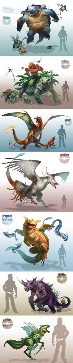 Cool Pokemon! Lost link to original work, but I will get it. Talented _Deviant_Art